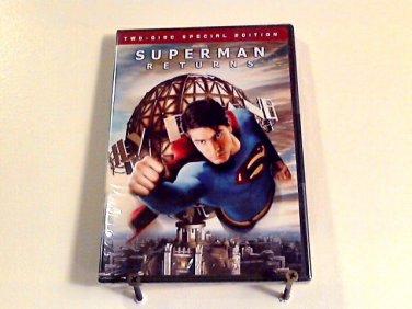 Superman Returns (2006) NEW DVD 2-DISC S E