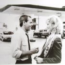 unknown movie 8x10 press photo man and woman at gas station
