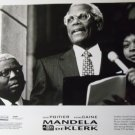 Mandela and DeKlerk 1997 photo 8x10 sidney poitier