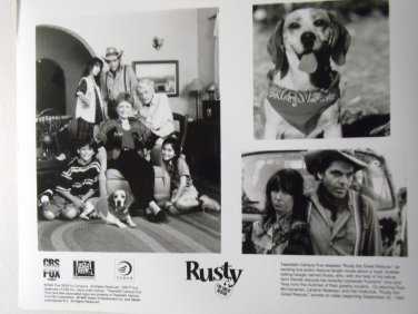 Rusty The Great Rescue 1998 photo 8x10 a dog's tale rue mcClanahan