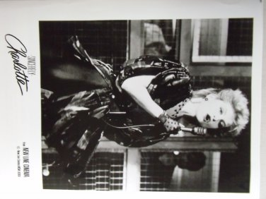 Sincerely Charlotte 1986 photo 8x10 isabelle huppert punk music