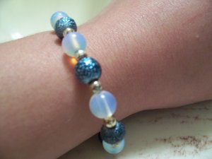 Of Moon and Sea Bracelet