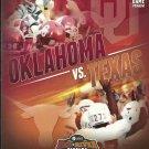 2012 Texas v Oklahoma Football Program