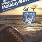 2011 Texas v California Holiday Bowl Football Program