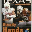 2011 Texas v Kansas Football Program