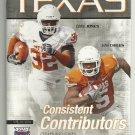 2010 Texas v Florida Atlantic Football Program
