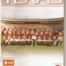 2009 Texas v Kansas Football Program
