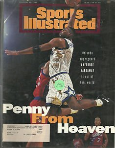 Sports Illustrated February 13, 1995 Orlando Magic Anfernee Hardaway
