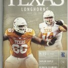 2015 Texas v Rice  Football Program