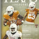2015 Texas v Texas Tech Football Program