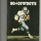 1980 Dallas Cowboys Football Media Guide