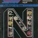 1970 Dallas Cowboys v Detroit Lions NFC Championship Game