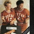 1990 Texas Women's Basketball Media Guide