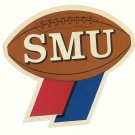1960 SMU Mustangs Humble Oil Decal/Schedule
