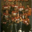 2005 Texas Longhorn Football Media Guide Spiral Binder Vince Young