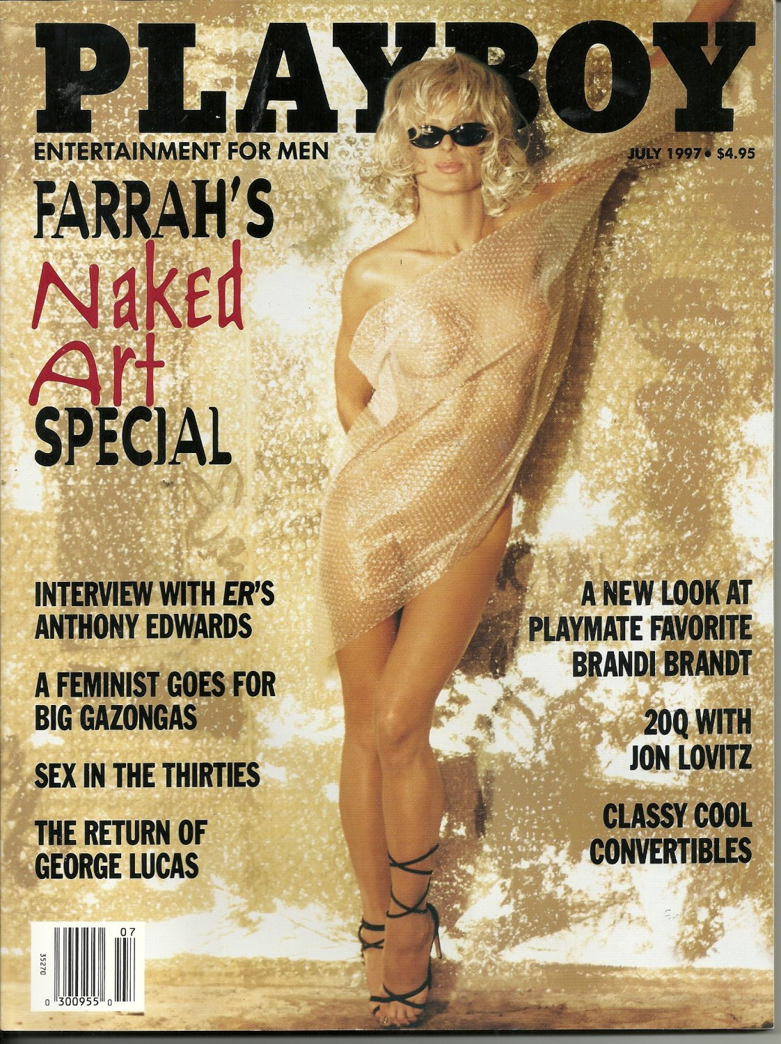 First time farrah fawcett playboy pics, fisure in anus