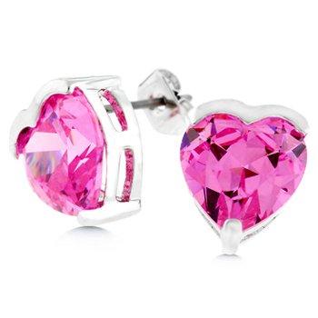 Bloom Heart Stud Earrings