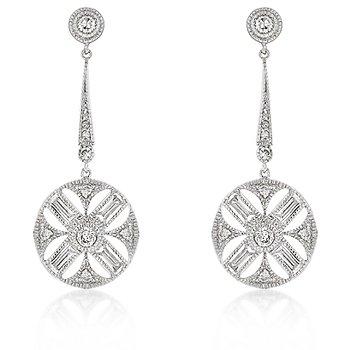 Diamond Zodiac Earrings