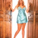 (1x) Mesh Cup Charmeuse Chemise
