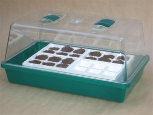 Hydroponic Grow Kit includes Tray, Dome for Growing Seeds/Cuttings/Clones