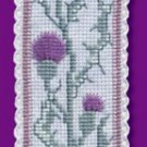 Ancient Thistle Bookmark Counted Cross Stitch Kit Scottish