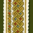 Celtic Knot Bookmark Couhnted Cross Stitch Kit