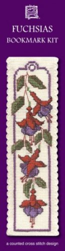 Irish Fuchsia Bookmark Counted Cross Stitch Kit