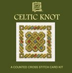 Celtic Knot Counted Cross Stitch Card Kit