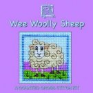 Irish Wee Woolly Sheep Counted Cross Stitch Card Kit