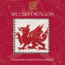 Welsh Dragon Counted Cross Stitch Card Kit