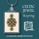 Celtic Jewel Keyring Counted Cross Stitch Kit