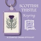 Scottish Thistle Keyring Counted Cross Stitch Kit