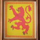 Scottish Rampant Lion Counted Cross Stitch Kit
