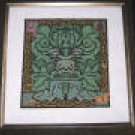Irish Green Man Sampler Counted Cross Stitch Kit