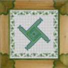 Irish St Brigid's Cross Counted Cross Stitch Kit
