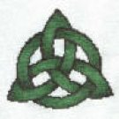 Irish Triquetra Knot Counted Cross Stitch Kit