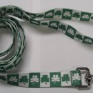 Dog Lead - Shamrock - Large 1""