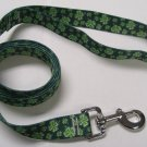 Dog Lead - 4 Leaf Clover - Medium 3/4""