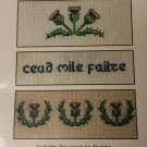 Five Scottish Borders Counted Cross Stitch Chart