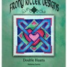 Double Hearts Ornament Chart