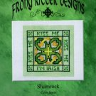 Kiss Me Shamrock Ornament Chart