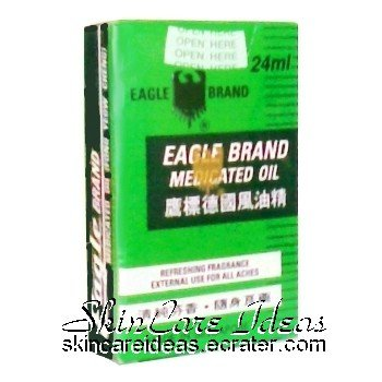 Eagle Brand Medicated Oil 24ml (Pack of 4)