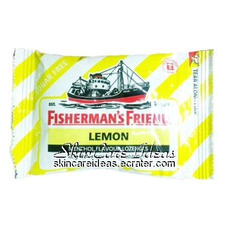 Fisherman's Friend Sugar Free Lemon 25g (Pack of 6)