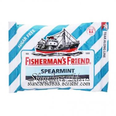Fisherman's Friend Sugar Free Spearmint 25g (Pack of 6)
