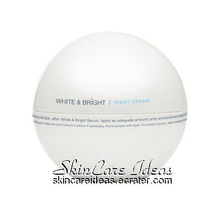 Pure Beauty White & Bright Night Cream 50m