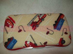 Custom Baby Wipes TRAVEL Case | FIRE DEPT