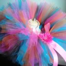 'BELLA' youth girls bows 'n bling tutu