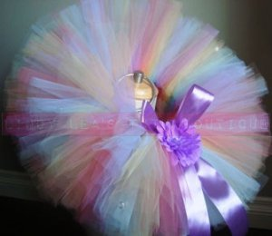'AMELIA' baby girls bows 'n bling tutu