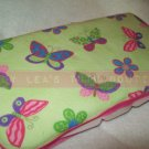 Custom Baby Wipes TRAVEL Case   BUTTERFLIES GALORE