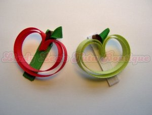 APPLE -2- [red or green]   CLIPPIE